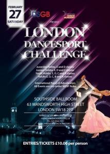 DSGB Challenge Cup, London, February 2016