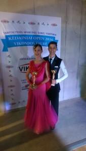 Vanda & Andrei win third place at Kėdainiai Open 2016